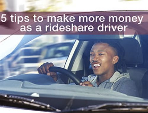 5 Tips to make more money as a rideshare driver